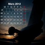 Flygkalendern - Mars