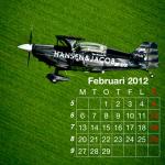 Flygkalender - Februari