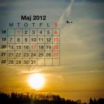 Flygkalendern - Maj