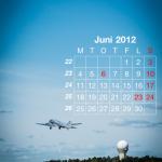 Flygkalendern - Juni